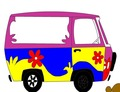 Coloring-game-with-a-hippie-van